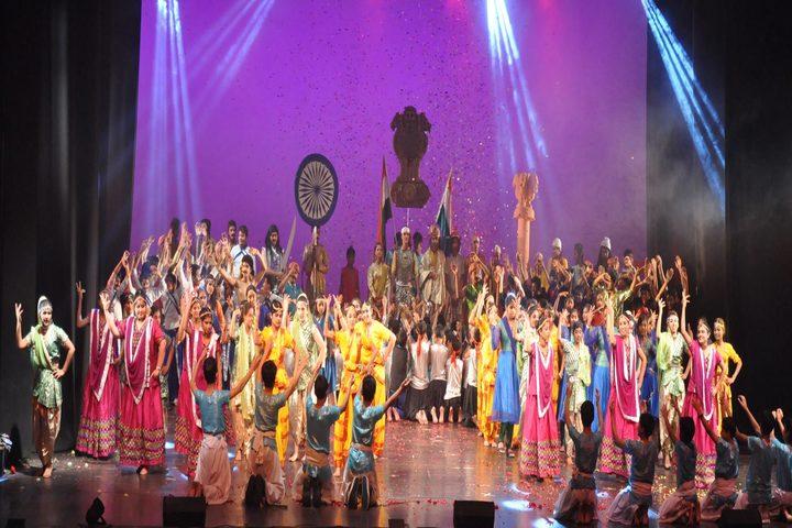 Dr Radha Krishnan International School-Dance