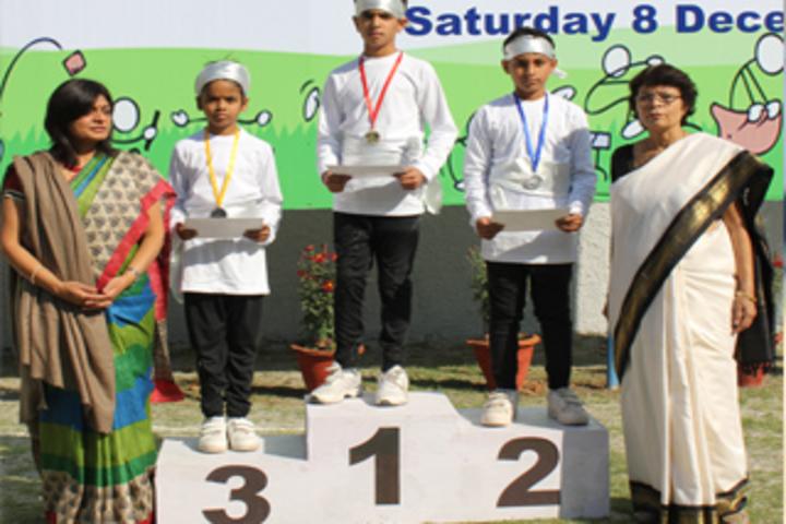 Dr Radha Krishnan International School-winners