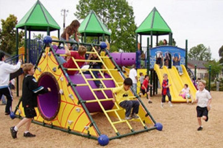 Dwarka International School- Playground