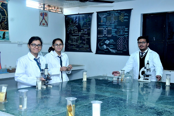 Evergreen Senior Secondary School- Biology lab