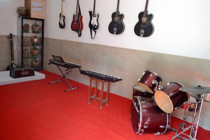 Evergreen Senior Secondary School- Music room