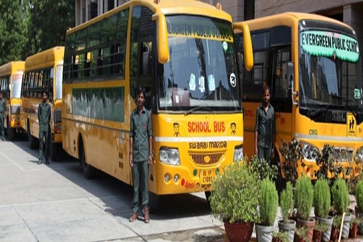 Evergreen Senior Secondary School- Transport