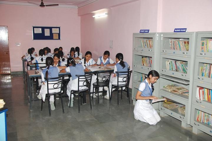 Flora Dale School-Library