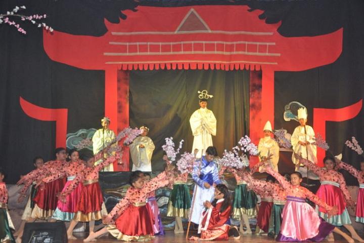 Fr. Agnel School-Annual Day-Mulan