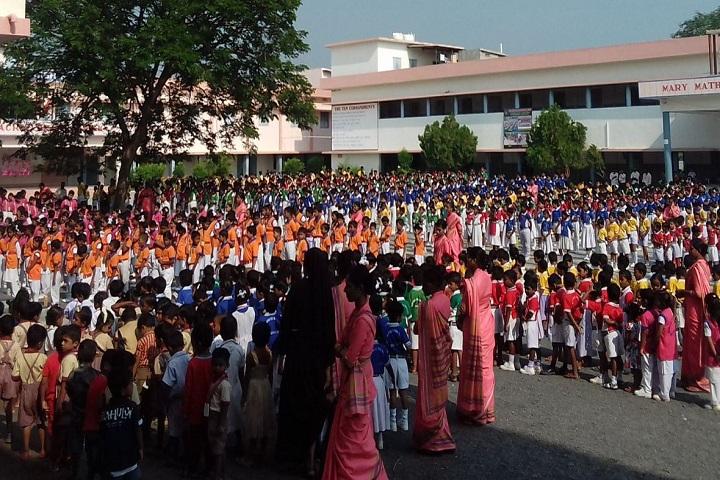 Marymatha English Medium High School-Assembly Ground