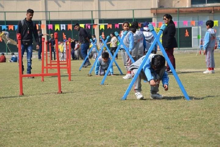 G D Goenka Public School-adventure camp