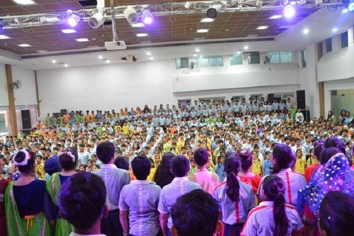G D Goenka Public School-assembly area