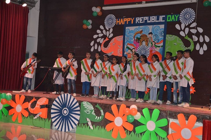 G D Goenka Public School-republic day