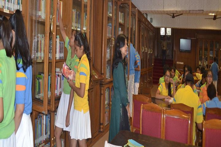 G D Goenka Public School-Library