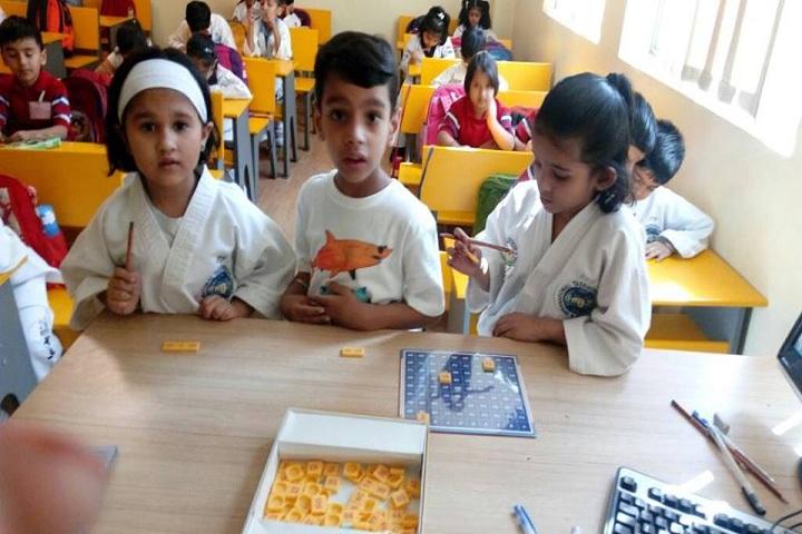 G D Goenka Public School Dwarka-activity1