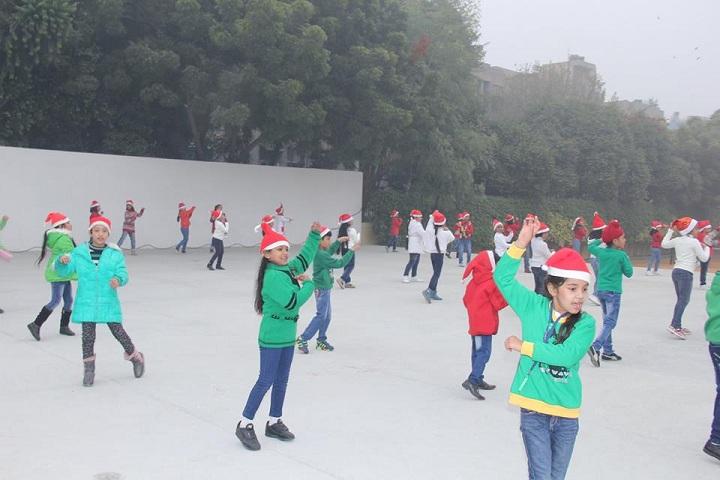 G D Goenka Public School Dwarka-christmas
