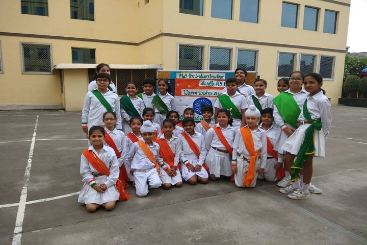 G D Goenka Public School Dwarka-independence day