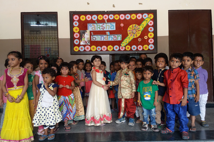 Mnr I Exceed School-Rakhi Celebrations