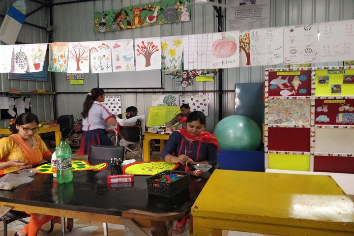 G D Goenka Public School-Art and Craft Room