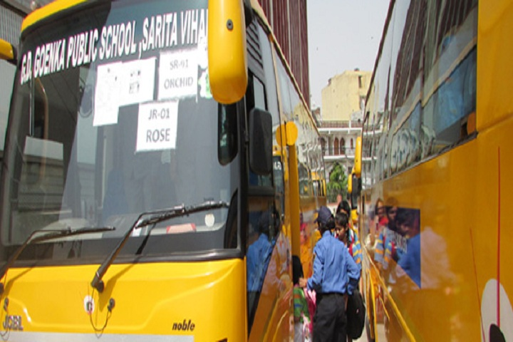 G D Goenka Public School-Transport