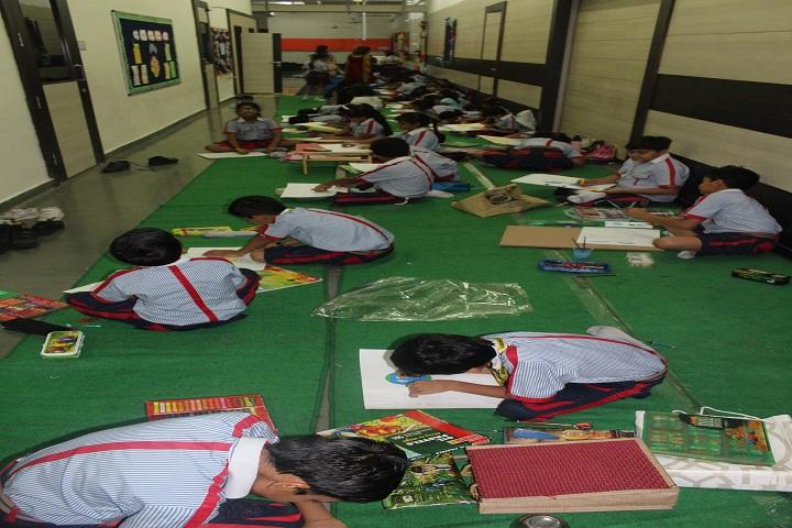 G D  Goenka School-Art