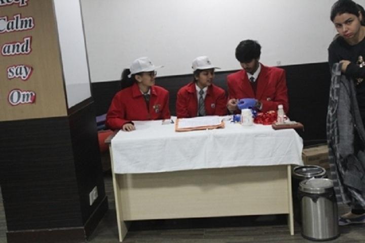 G D  Goenka School-Blood Donation Camp