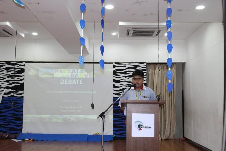 G D  Goenka School-Debate Program