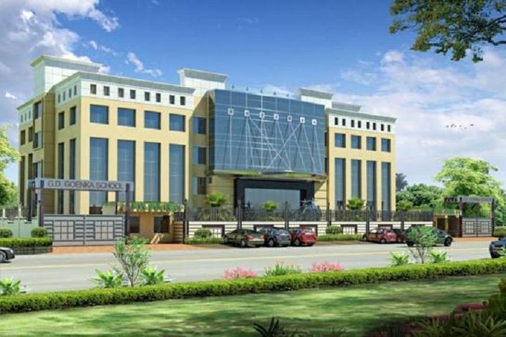 G D  Goenka School-School Building