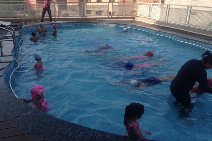 G D  Goenka School-Swimmimg Pool