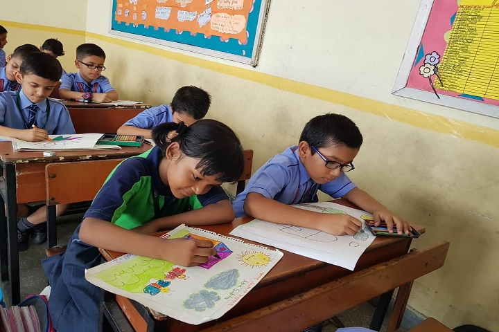 Ganga International School-Students Drawing