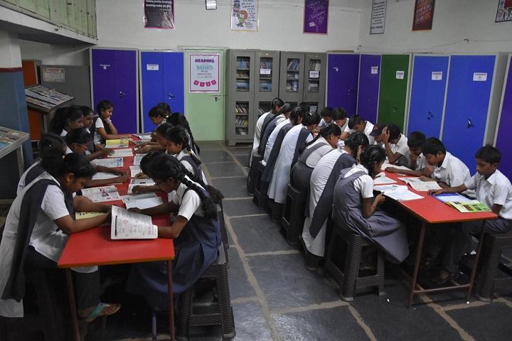 Montessori English Medium Primary School-Library