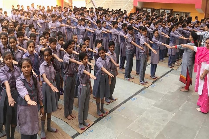 Geeta Bal Bharti Sr Sec School-School pledge-2