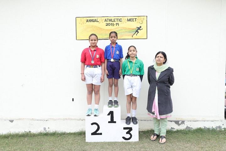 General Rajs Public School-Sports Champions