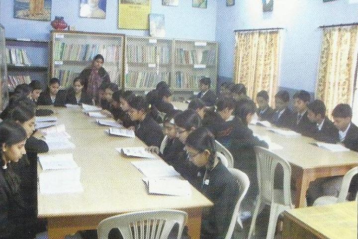 Golden Valley Senior Secondary Public School-Library