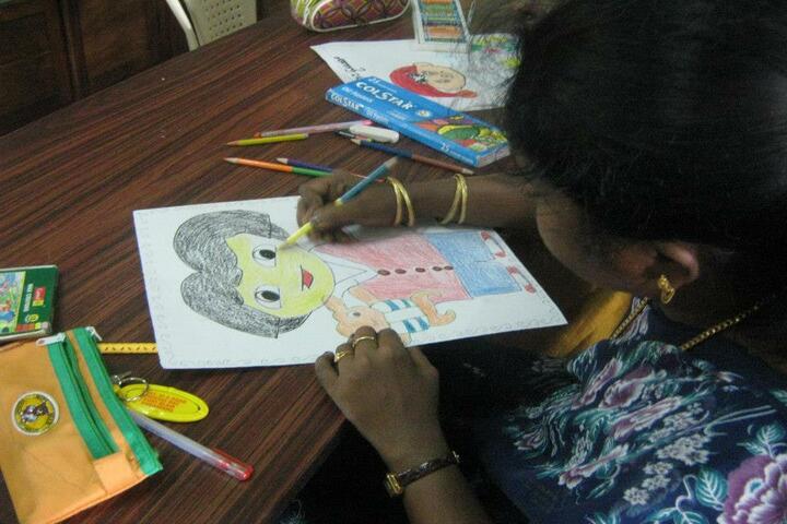 Carmel Senior Secondary School-Drawing Event