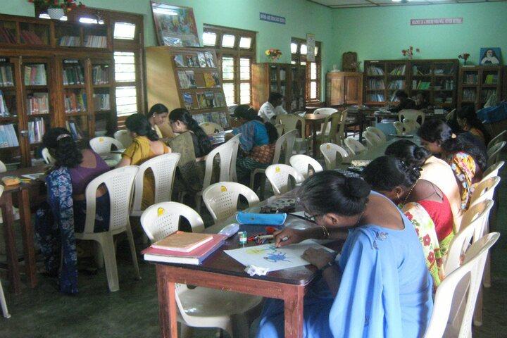 Carmel Senior Secondary School-Library