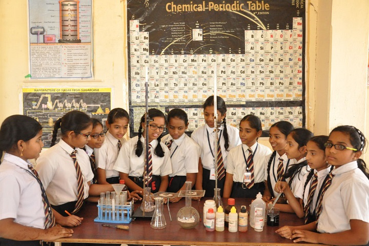 Montessori Indus School-Chemistry Lab