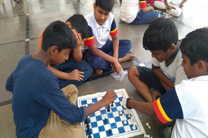 Montessori Indus School-Indoor Games