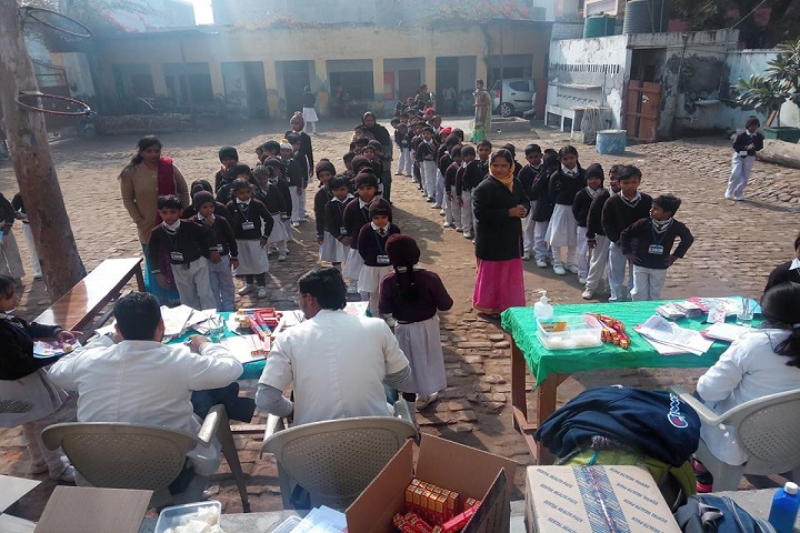 Good Luck Public School-Medical Camp