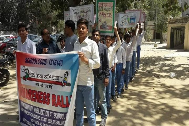 Government Boys Senior Secondary School-Awareness Rally