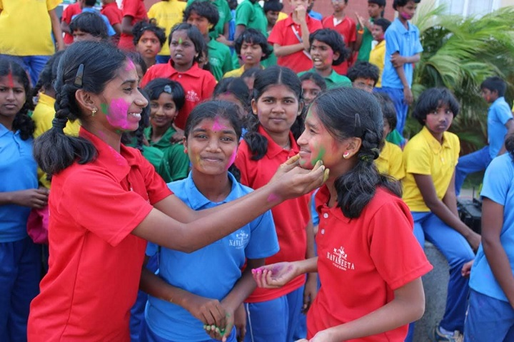 Navaneeta Public School-Holi Celebrations
