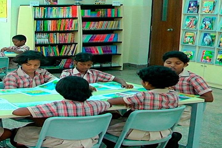 Navaneeta Public School-Library