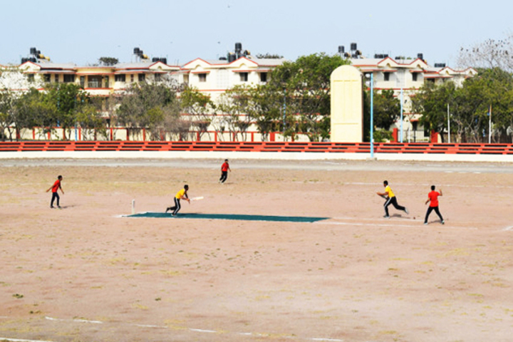 Navy Children School-Cricket Game