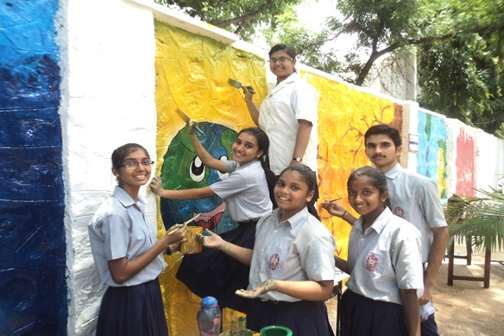 Navy Children School-Art and craft