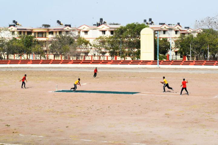 Navy Children School-Cricket Game