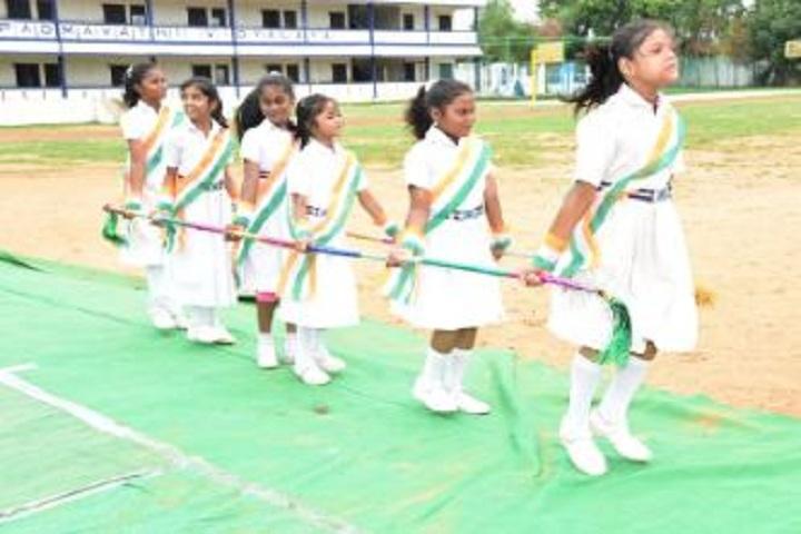 Padmavathi Vidyalaya-Sports day celebrations