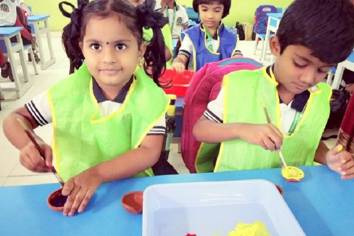 Pallavi Model School-Art and Craft