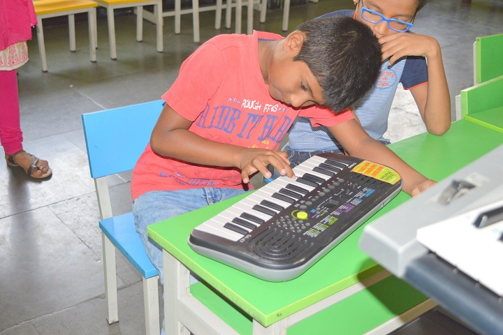 Pallavi Model School-Music room