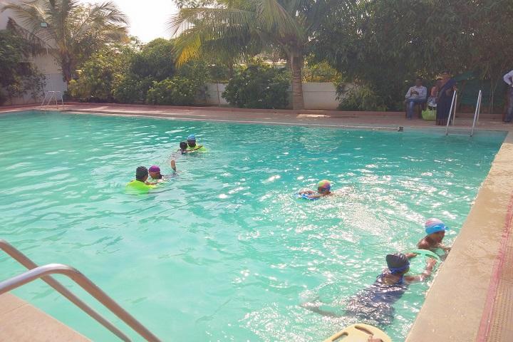 Pallavi Model School-Swimming pool