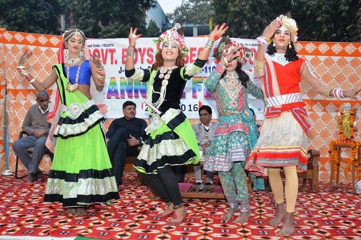 Government Boys Senior Secondary School-Dance