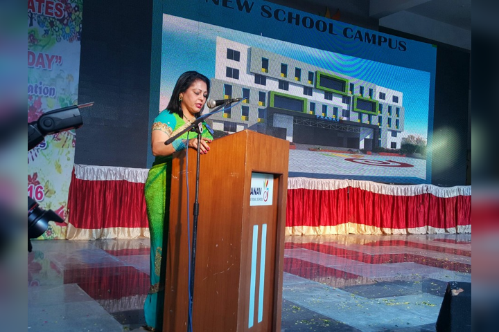 Speech During Annual Day Function
