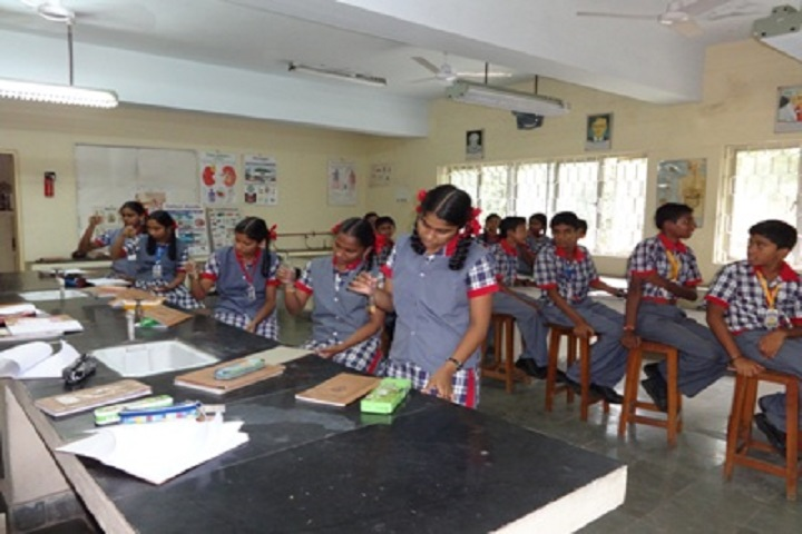 Ramanath Secondary School-Biology Lab