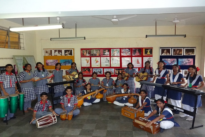 Ramanath Secondary School-Music Room
