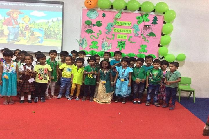 Rotterdam School-Green day celebrations