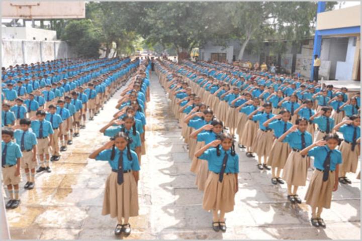 S R Digi School-Morning Assembly